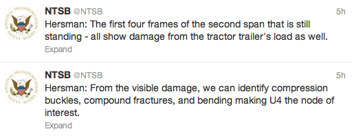 NTSB published accident details via Twitter